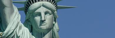 statue liberty close up